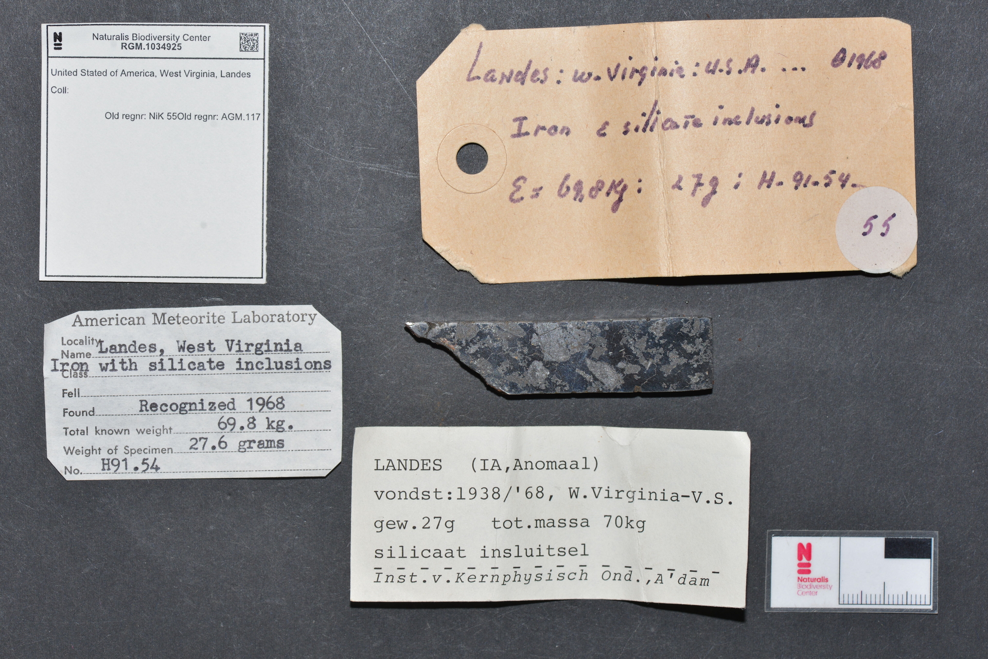 RGM.1034925 | Iron, IAB-MG