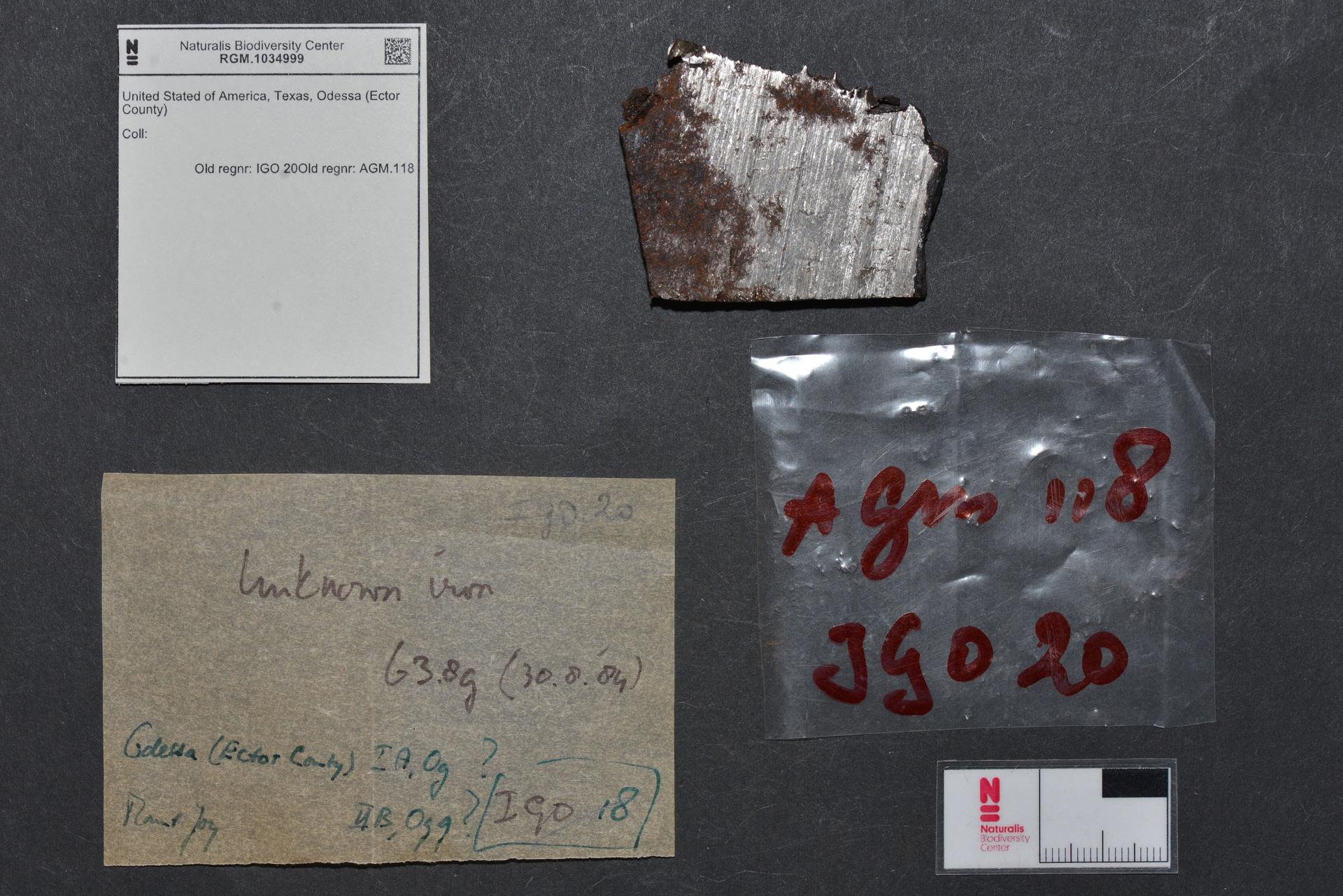 RGM.1034999 | Iron, IAB-MG