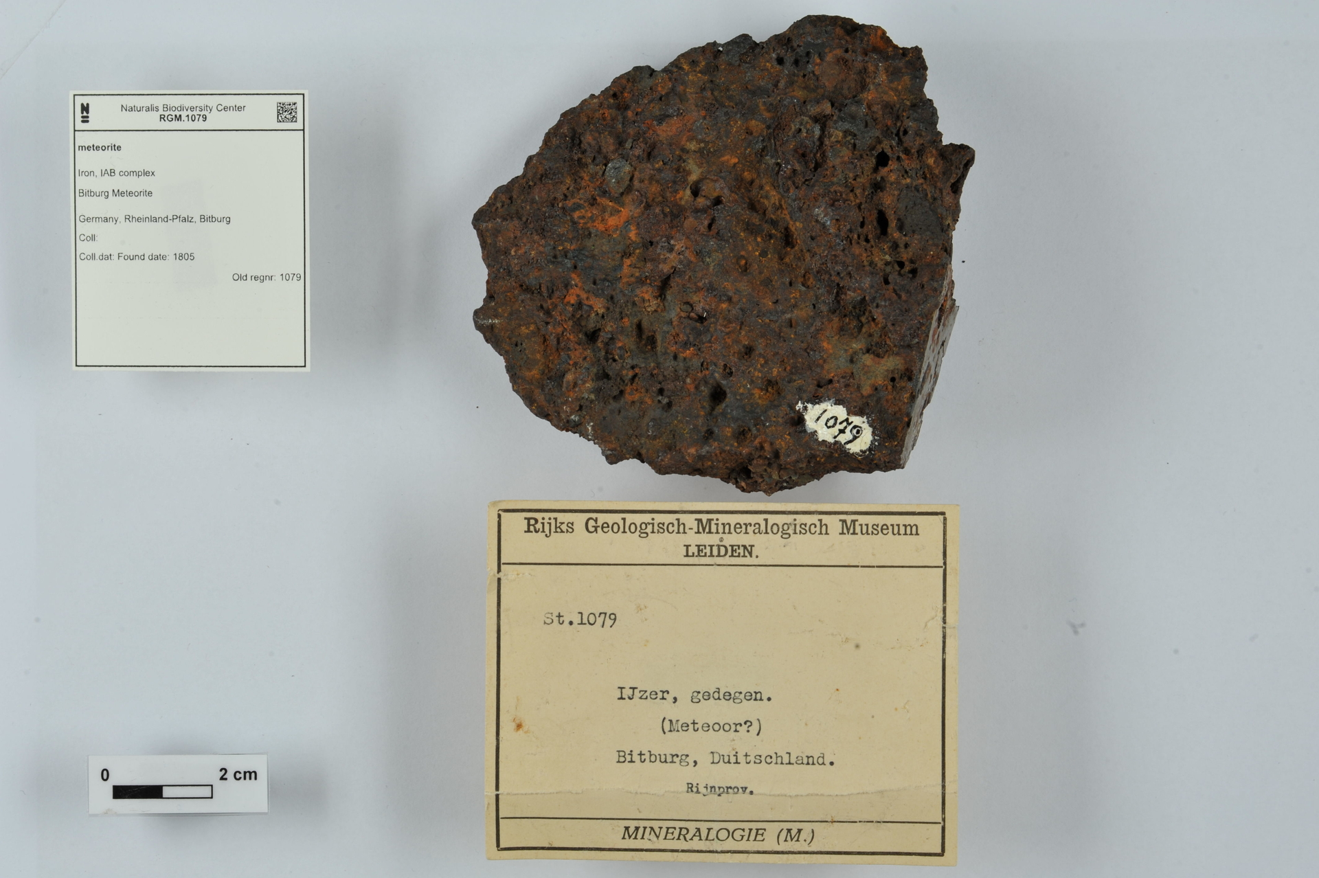 RGM.1079 | Iron, IAB complex