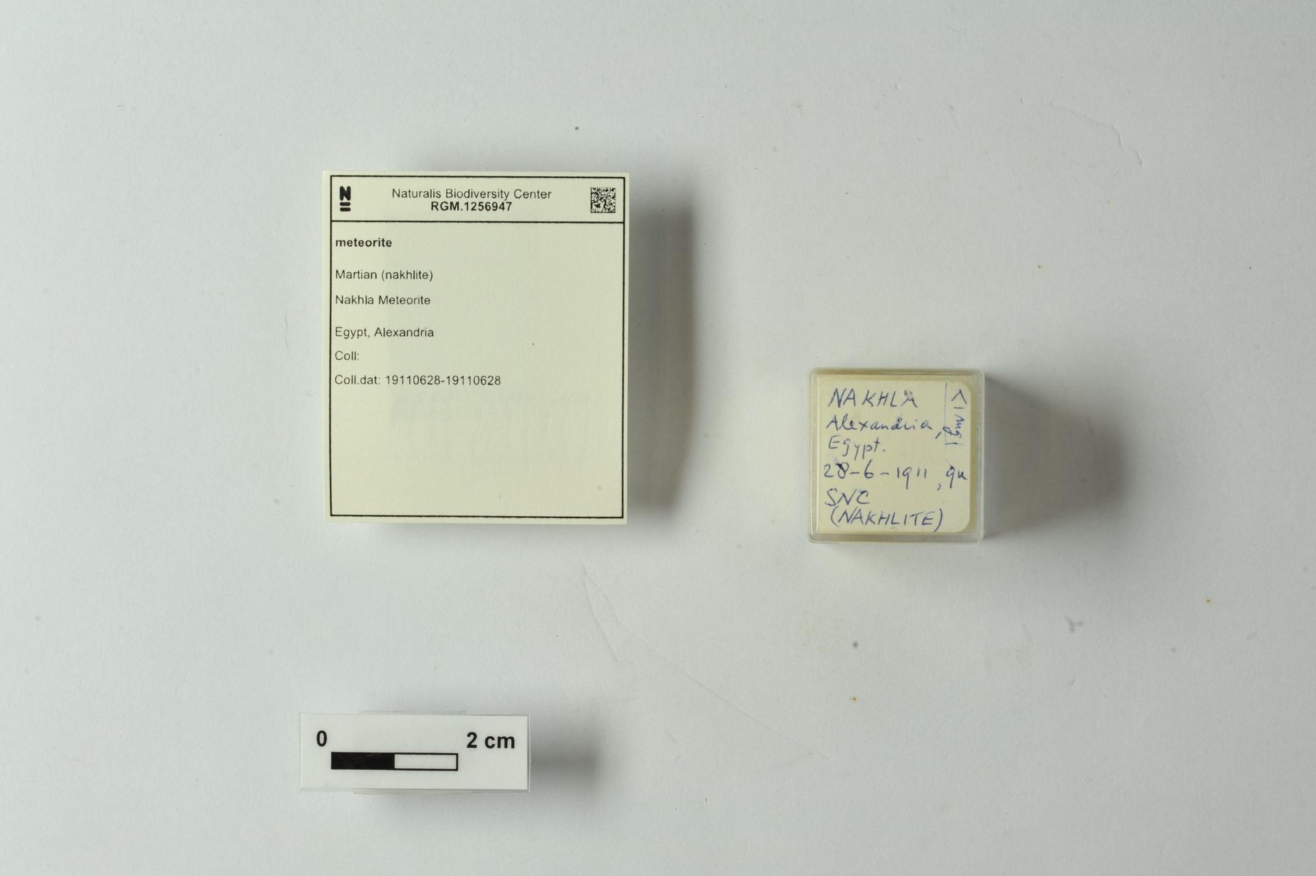 RGM.1256947   Martian (nakhlite)