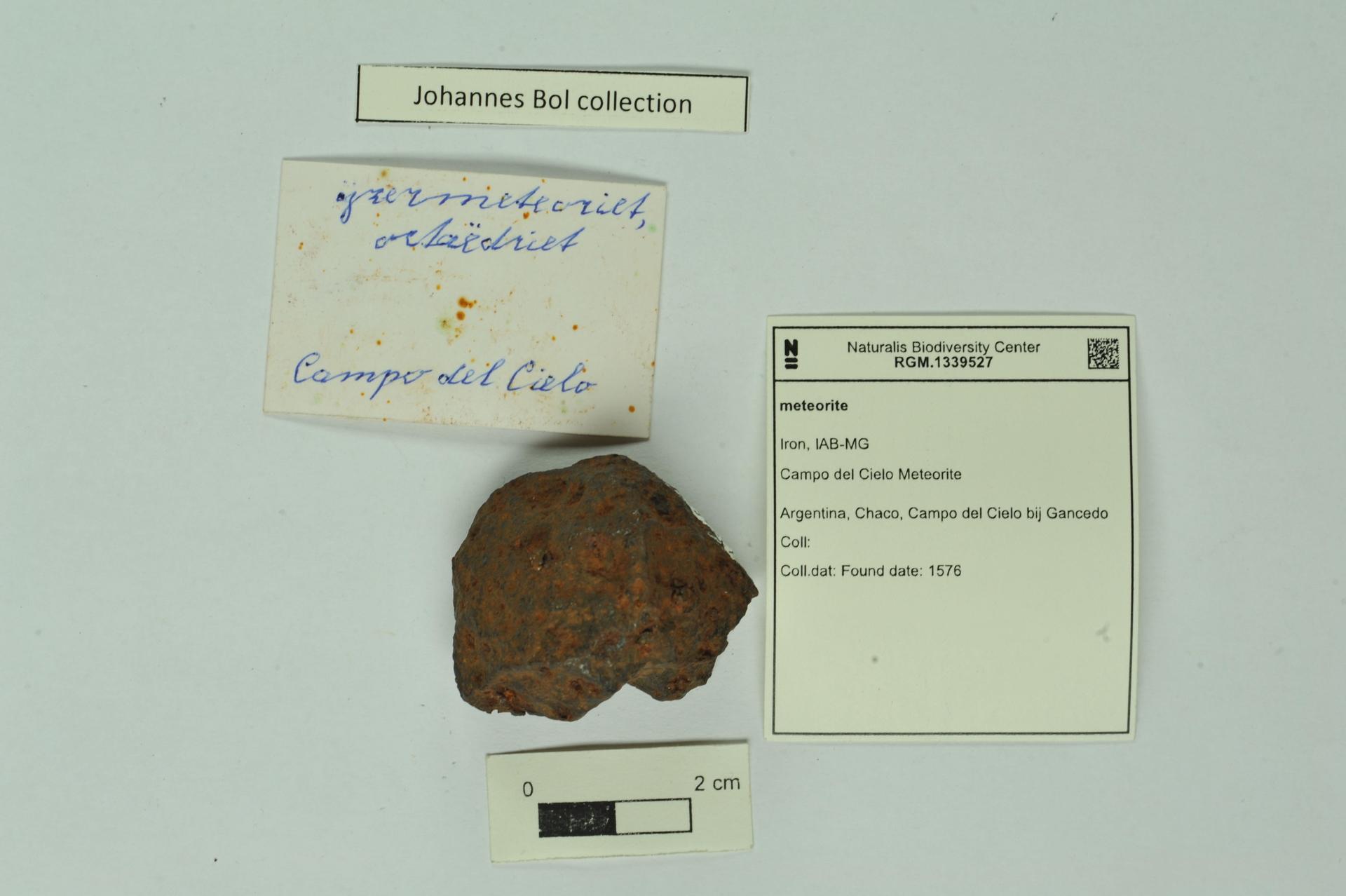 RGM.1339527 | Iron, IAB-MG