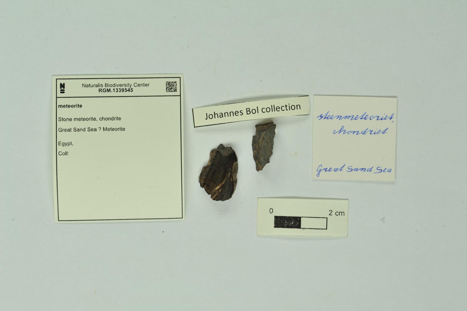 RGM.1339545 | Stone meteorite, chondrite