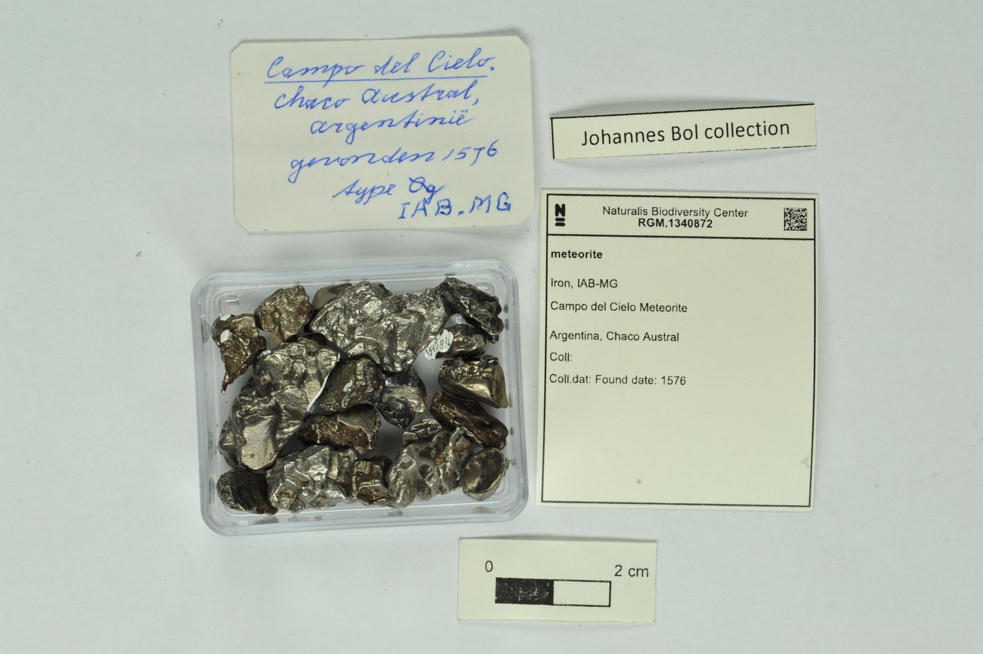 RGM.1340872 | Iron, IAB-MG
