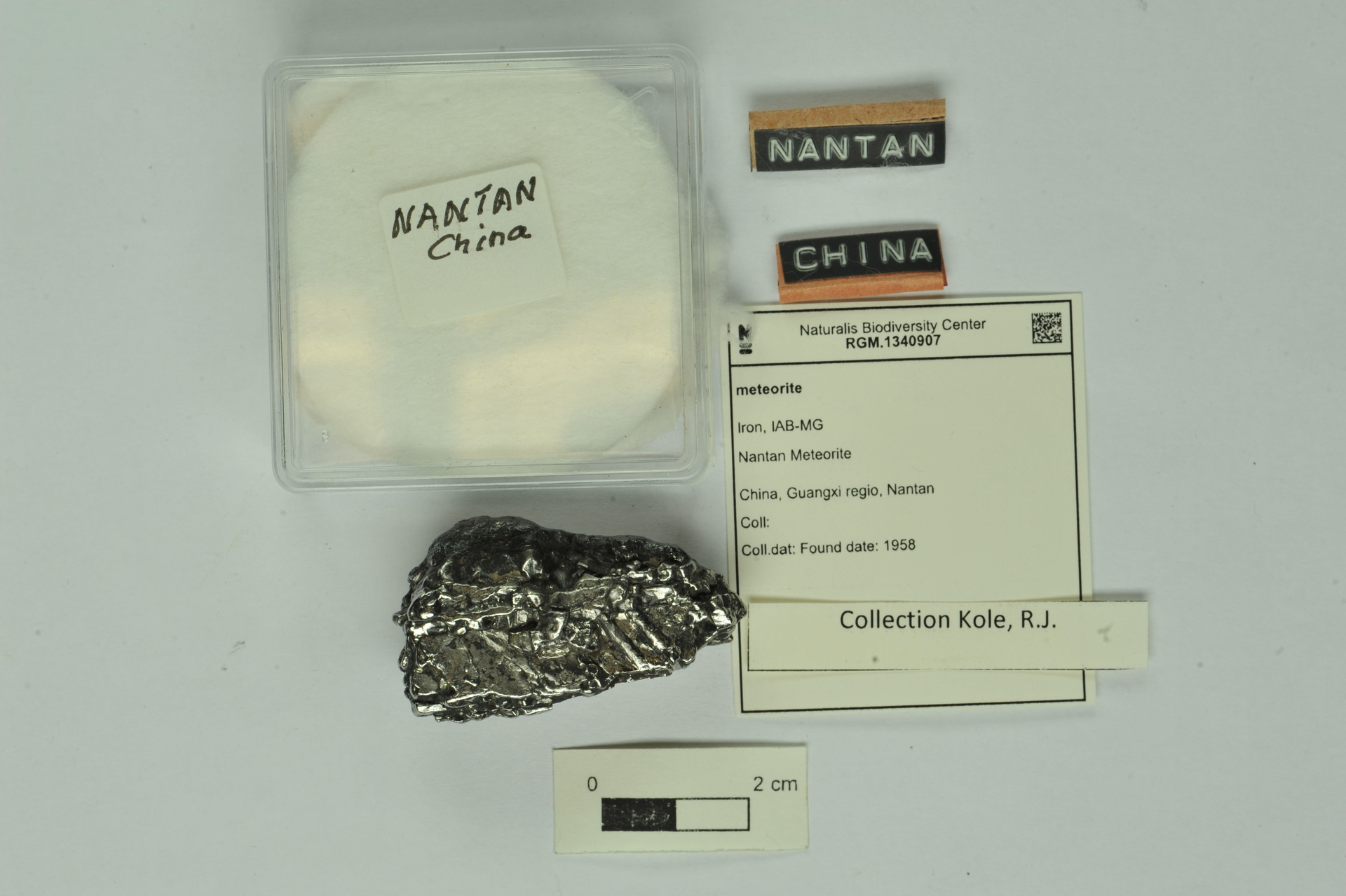 RGM.1340907 | Iron, IAB-MG
