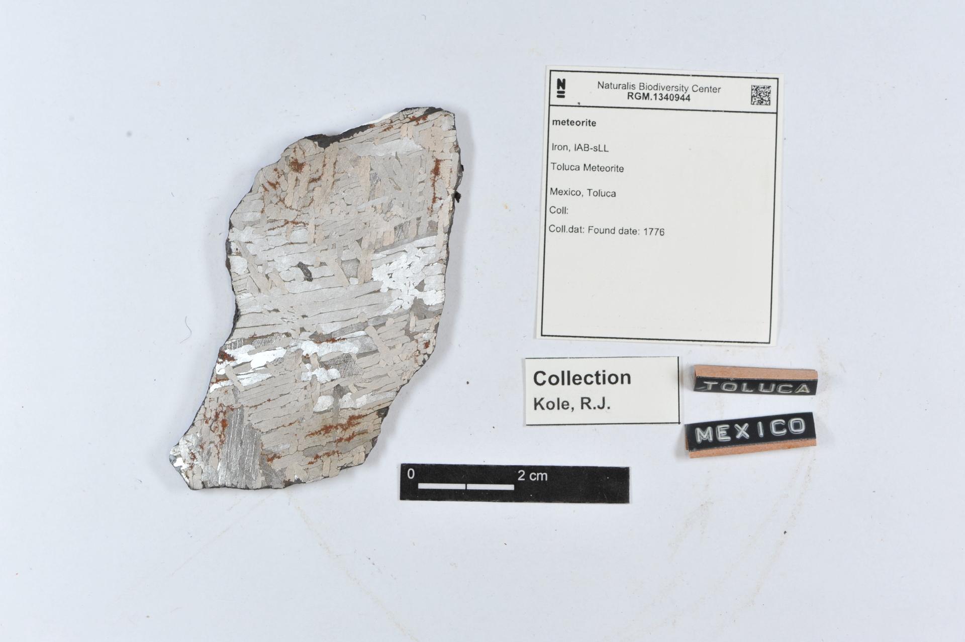 RGM.1340944 | Iron, IAB-sLL