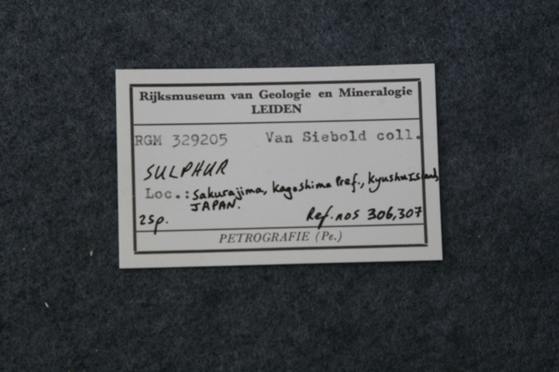 RGM.329205 | SULPHUR