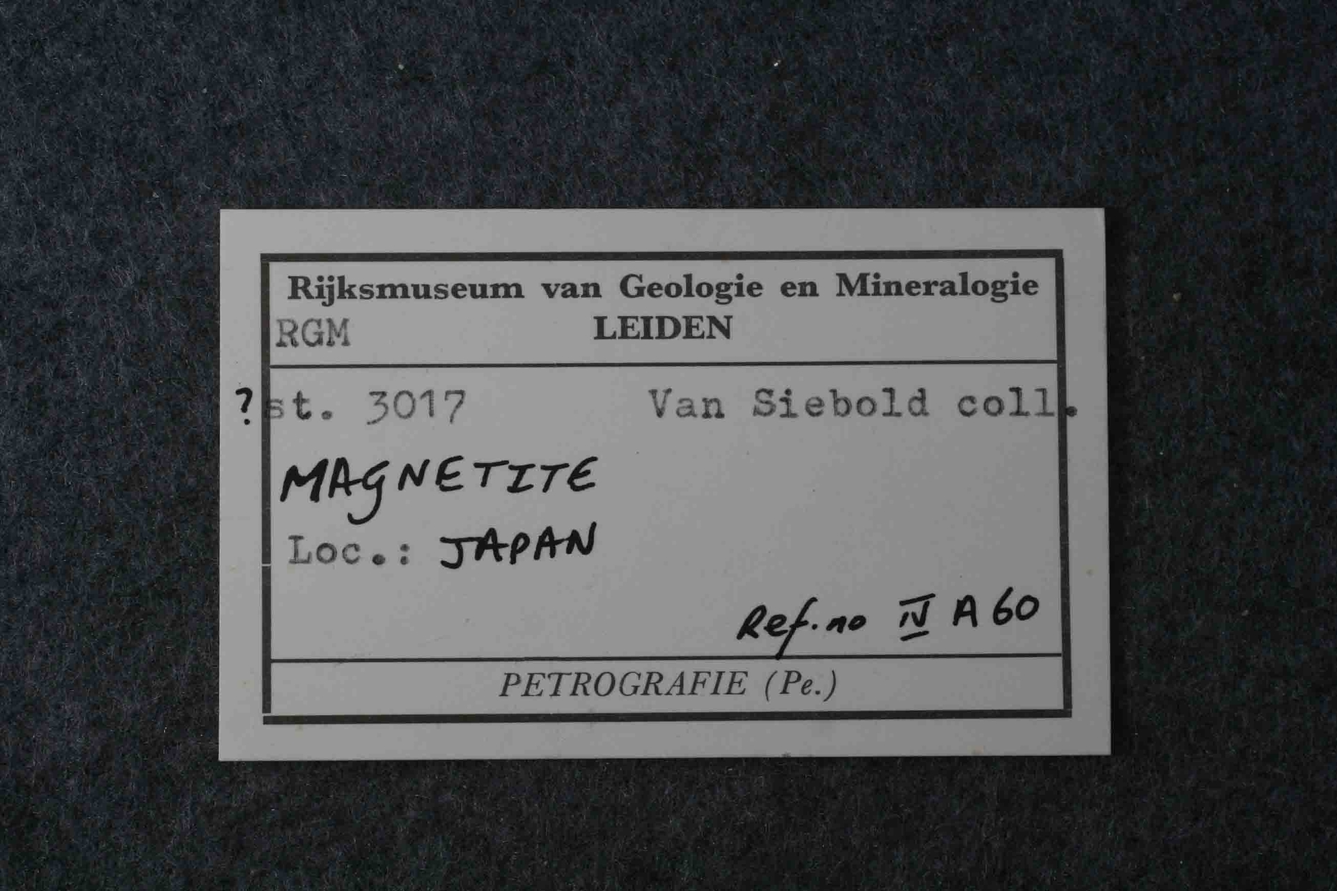 RGM.867649 | MAGNETITE
